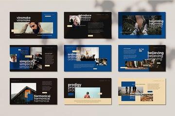 HQ Vinsmoke PowerPoint Booklet Template