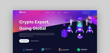Acco – Tema de WordPress para Bitcoin, blockchain y criptomonedas