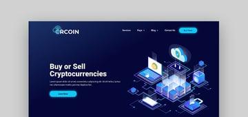 Crcoin - Tema de WordPress para Bitcoin, criptomonedas y tecnología blockchain