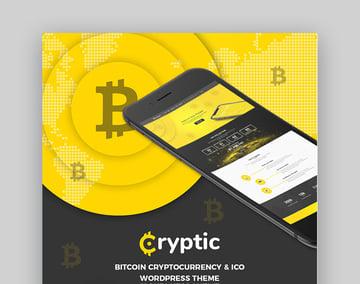 Cryptic - Tema de WordPress para Bitcoin y criptomonedas