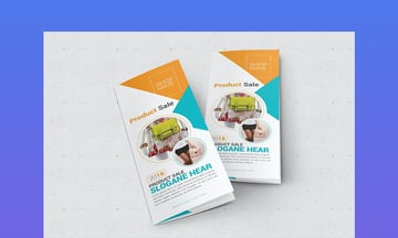 Product Sale Trifold Brochure