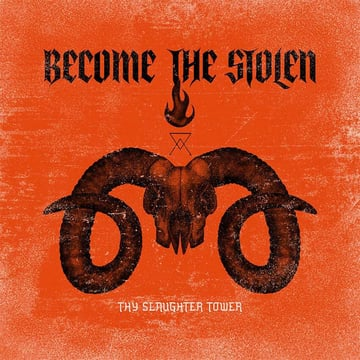 Cover Album Band Metal With Diabolical Graphic