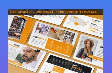 officescape corporate ppt presentation