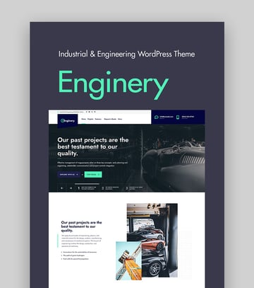 Enginery Industrial Industry & Factory WordPress Theme
