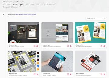 Envato Elements InDesign Flyer Templates