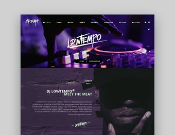 Croma MP3 Download WordPress Theme