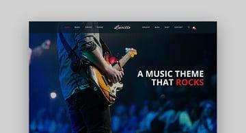 Lucille Music Producer Portal WordPress
