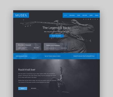 Muse WordPress Radio Station Theme