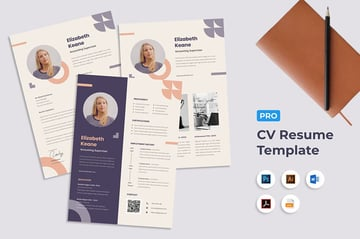 Colorful Art Resume Word