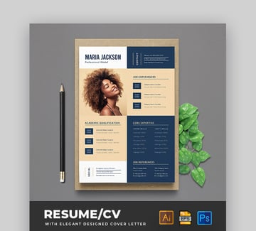 Modern Resume Example Set