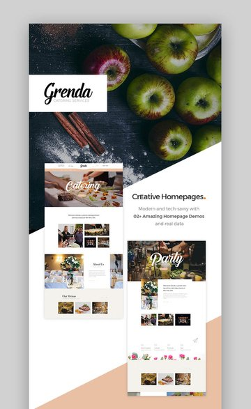 Grenda Wedding and Wedding Planner WordPress Theme