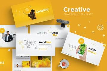Creative PPT Slide Design Download