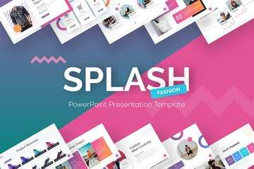 Splash Fashion PowerPoint Presentation