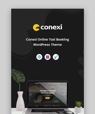 Conexi Taxi Booking Service WordPress Theme