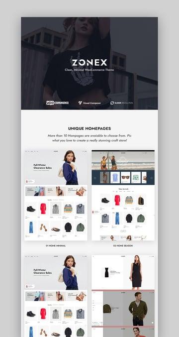 Zonex Clean And Modern WordPress Theme