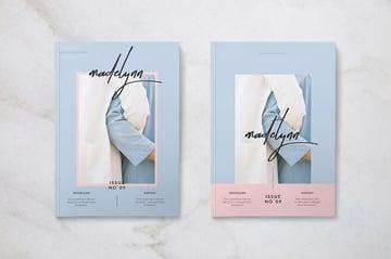 Madelynn Minimal Magazine Cover Idea