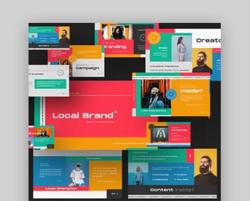 Local Brand Creative Google Slide