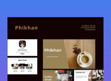 Phikhan Coffee Theme For PowerPoint