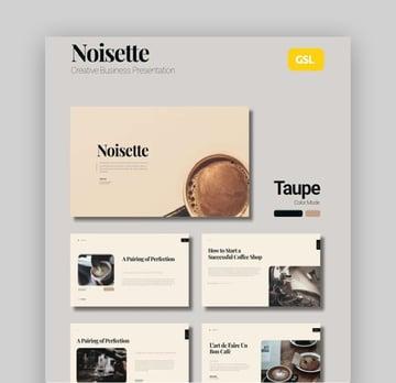 Noisette Coffee Presentation Slides