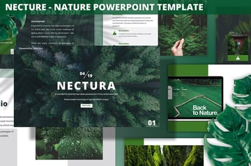 Nectura Plants PowerPoint Template