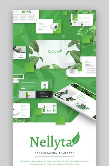 Nellyta Download Template PPT Nature