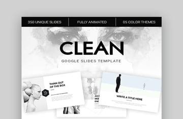 Clean Google Slides Theme Templates