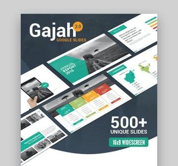 Gajah Best Presentation Themes Google Slides