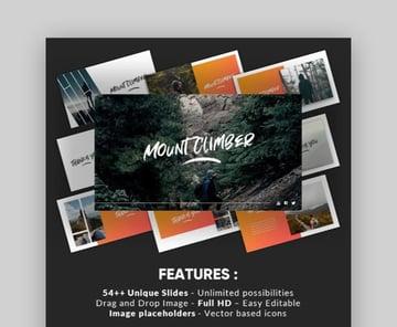 Mountclimb Traveling Google Slides Examples