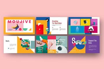 Moujive Colorful Slides
