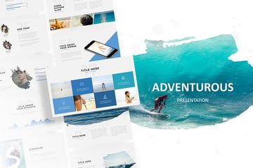 Adventurous PPT Design Inspiration
