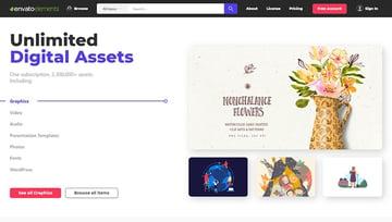 Design Without Limits Unlimited Digital Assets Envato Elements