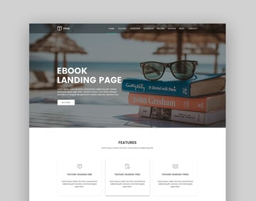 Page eBook Landing Page