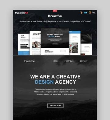 Breathe - Responsive Email  Online Builder