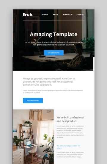 Eruh Best Newsletter Design 2021
