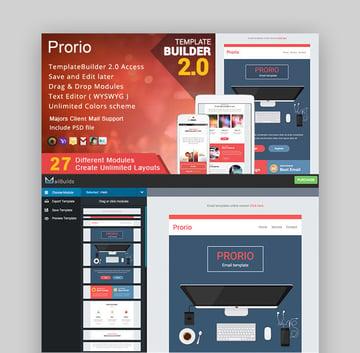 Priorio - Responsive Email  MailBuild Online