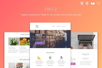 Fritz Mailchimp HTML Templates