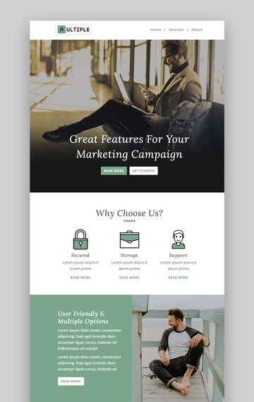 Multiple Responsive Email Template