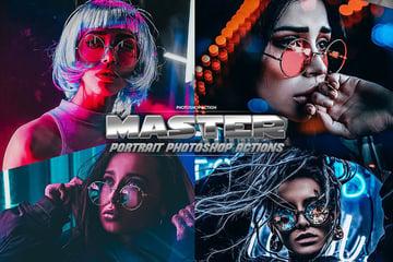 Creative Portrait Master Photoshop Actions Download