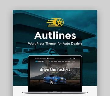 Autlines Car Dealer The Best Car Dealer Automotive Responsive WordPress