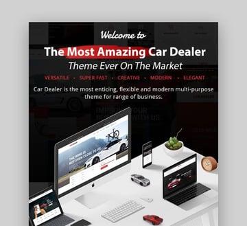 Car Dealer The Best Car Dealer Automotive Responsive WordPress Theme