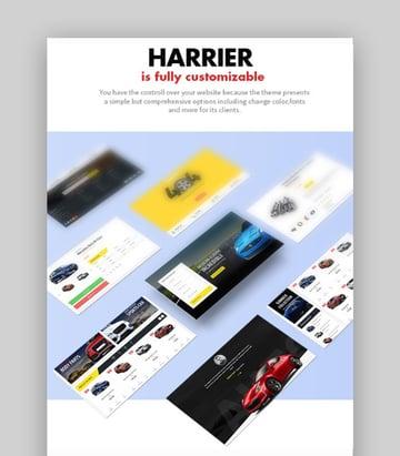 Harrier Responsive Car Dealer Theme