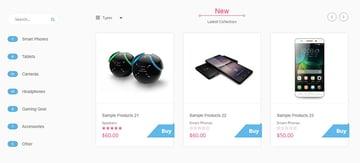 Planet Tech - Tema para dropshipping con Shopify bien organizado