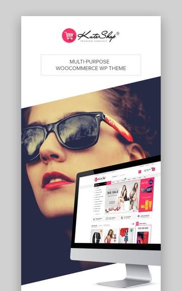 KuteShop - Tema WooCommerce para marketplace de moda y electrónica con Elementor y WordPress (compatible con idiomas RTL)