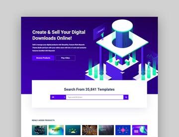 Mayosis - Tema de marketplace para WordPress de multiproveedores