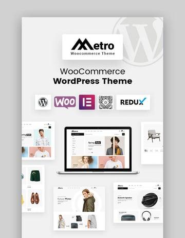 Metro - Minimalista tema de WordPress para WooCommerce estilo Etsy