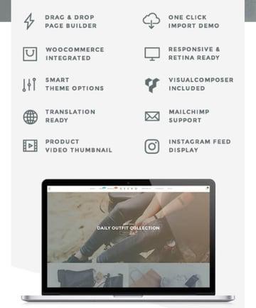 Gecko - Mejor tema de WordPress para crear un marketplace