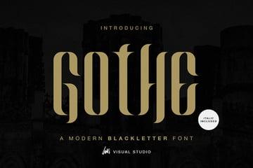 Gothe Modern Blackletter