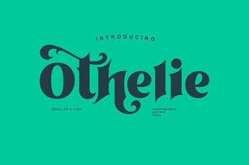 Othelie Modern Blackletter