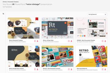 Find loads of premium Vintage PowerPoint templates on Envato Elements