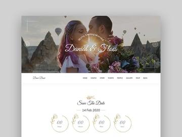 Pratty Marriage Responsive Wedding WordPress Theme